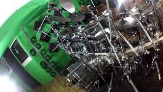 Aaron Edgar's Drum  Kit Tour : Sonor SQ2 Stratawood GoPro HD Hero2