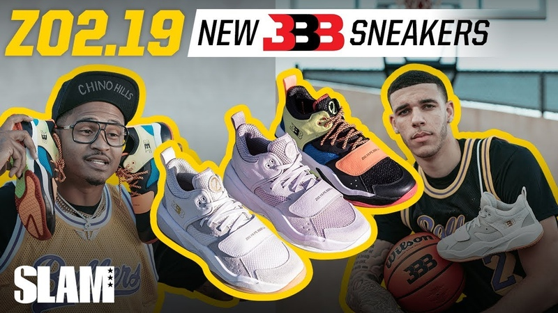 Lonzo Ball EXCLUSIVE Reveal of Second Signature Sneaker The BBB ZO2 19 🔥