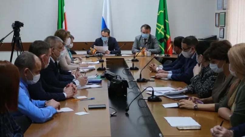 Рабочий визит в Альметьевск первого заместителя министра здравоохранения Татарстана Альмира Абашева
