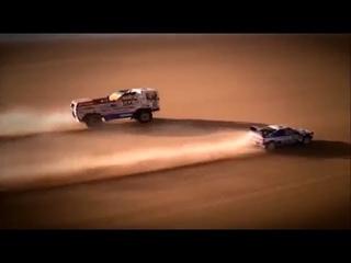DAF vs Peugeot 405 I Paris-Dakar 1988
