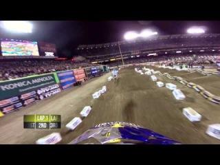 GoPro HD: James Stewart Main Event 2014 Monster Energy Supercross from Anaheim 2