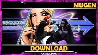Black Queen By ESN23 & Yin [Hard Fight] MUGEN CHAR