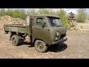УАЗ работает на дровах. Handmade woodgas car.