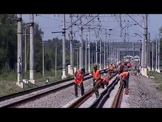 Видеоролик про специальность строительство железных дорог, путь и путевое хозяйство