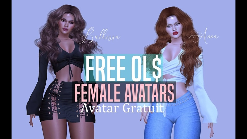 Lets make a FREE avatar, On monte un avatar GRATUIT 0L$ My Free Shapes GIFT🎁
