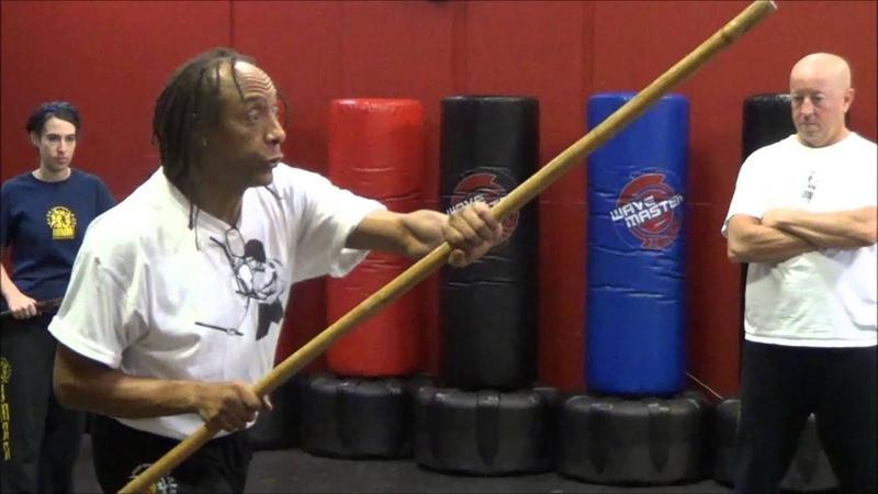 Filipino Kali Training How To Use The Staff Sibat In Filipino Kali
