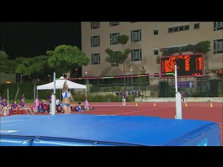Womens high jump final athletics singapore 2010 youth games