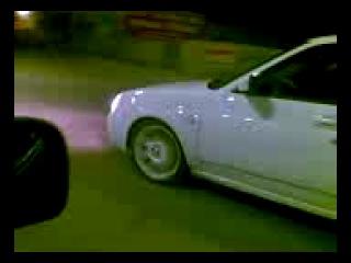 Mers c180 AMG vs Priora 911