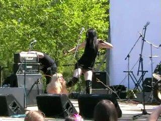 Asbest Metal Fest 2010 Oli DepreSSia Кукла и Шлюха