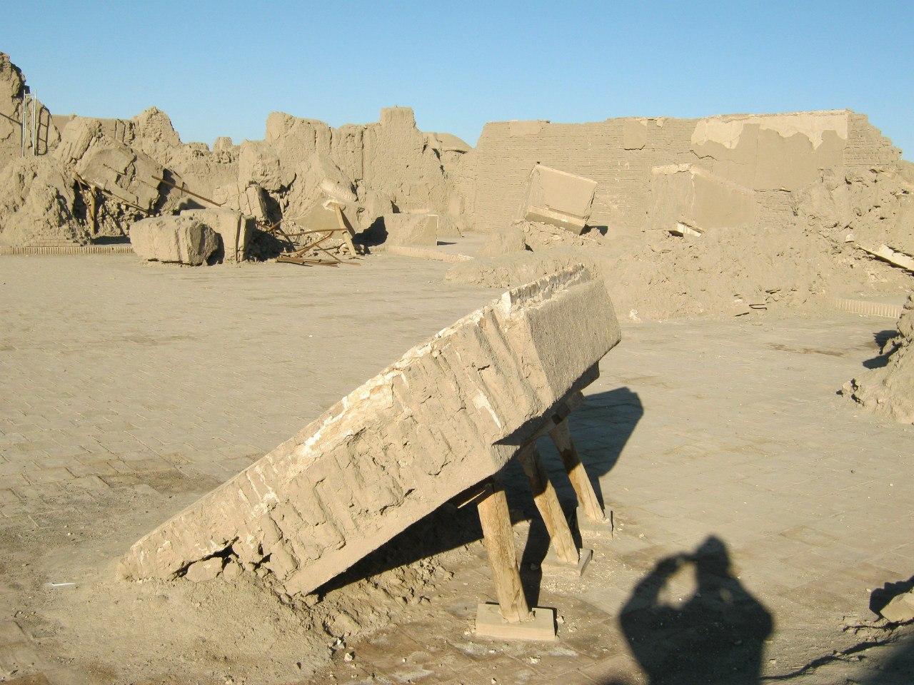 руины от древнего города Бам