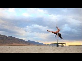 стрип пластика танец с шестом Zen Arts Pole Dancer and Aerialist Zoraya Judd