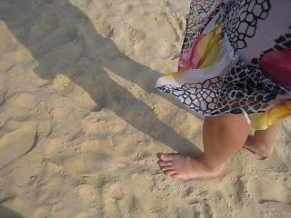 как скрипит песок на пляже Карон (Пхукет, Тайланд)