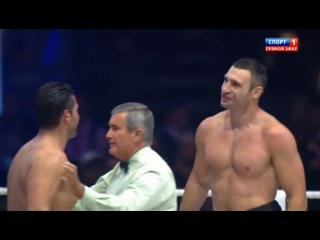 Бокс Виталий Кличко Мануэль Чарр Бой за звание чемпиона мира 8 09 2012