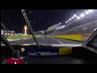 Mark Martin blows engine early (Charlotte Motor Speedway 2013)