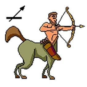 Анимационные картинки знаки зодиака стрельцы