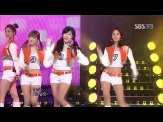 SNSD - Oh (소녀시대 - Oh) @ SBS Inkigayo 인기가요 100307
