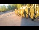 прогон духов по плацу в честь выхода Торпедо в высший дивизион