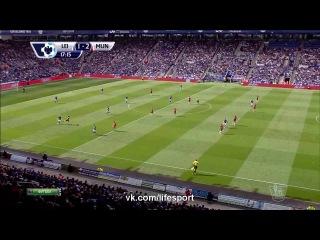 Лестер 1:2 Манчестер Юнайтед | Гол Уллоа
