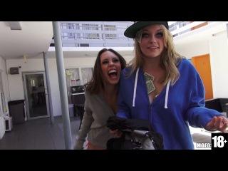 Alli Rae And Jade Nile - Spring Break Threesome  720p