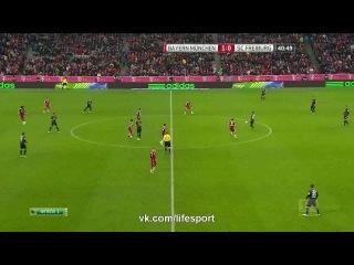 Бавария 2:0 Фрайбург | Бундеслига 2014/15 | 16-й тур