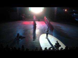 ДЛ Мандарин. 2012, 5 смена. Шоу №1. Выступление команды