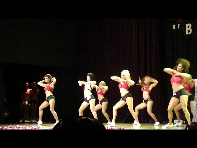 Houston Rockets Power Dancer Auditions 2011-2012 - Group Dance II