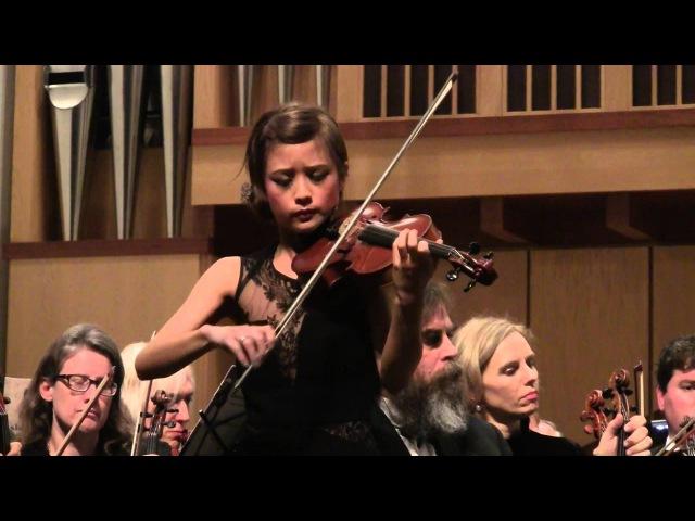 Chaconne by Tomaso Vitali Violin Jennifer Tzeng with Palo Alto Philharmonic Orchestra