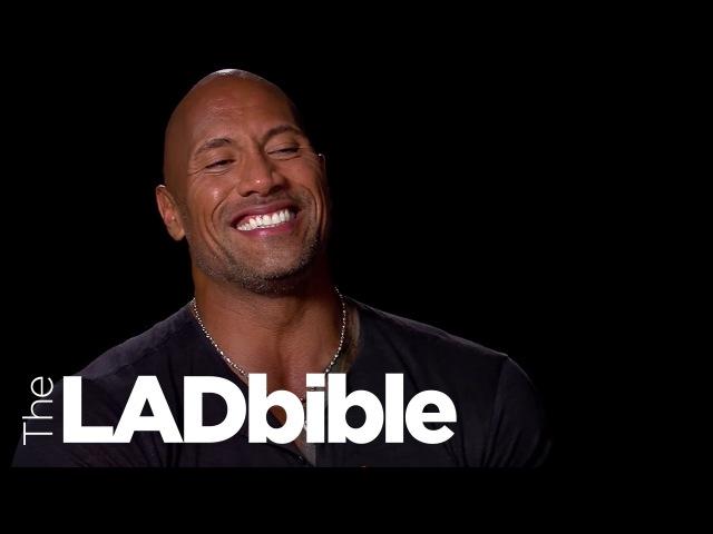 LADbible Roles Reversed -Dwayne The Rock Johnson Impersonates Kevin Hart