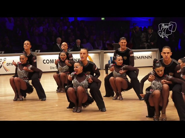 DUET Perm RUS 2016 World Formation Latin DanceSport Total