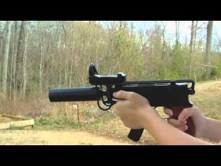 (AIRSOFT) CZ Skorpion Muzzle Flash Effects Test