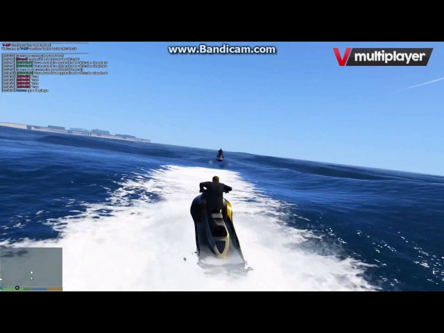 V MultiPlayer Syncronisation OnBoat OnVehicule OnFoot OnHeli FIXED