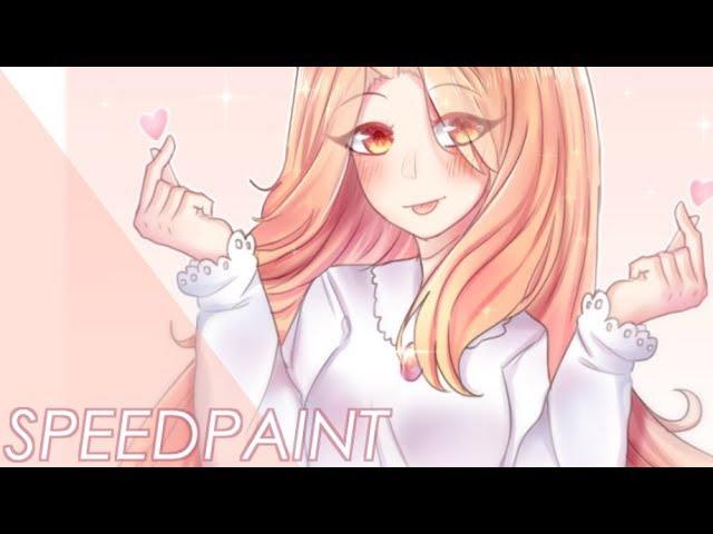 [Speedpaint]HBD Ferria!(KOHEKU)