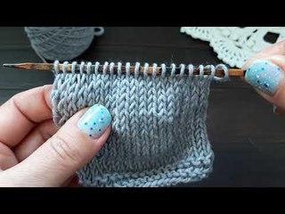 4 способа вязания укороченных рядов