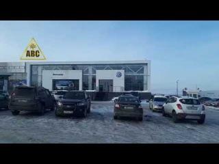 Портфолио АВС | Установка рольставен Автосалон Volkswagen на Соколовой горе г. Саратов