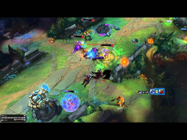 Deft Ezreal vs Tusin Xerath dodge play