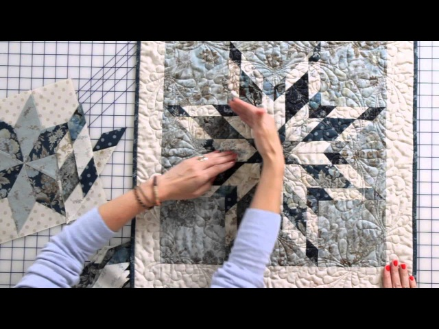 How to Sew an Intermediate Eight Point Star Quilt Block by Edyta Sitar Fat Quarter Shop