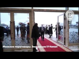 Журналистке 'Россия 24' жестко закрыли рот Охрана Порошенко Минские Переговоры УКРАИНА НОВОСТИ СЕГОД