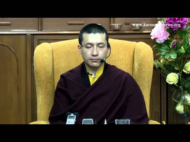 17 й Кармапа ведет медитацию КИБИ 2012 рус суб