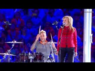 Ольга Кормухина и Gorky Park - Moscow Calling (Закрытие Олимпиады в Сочи)
