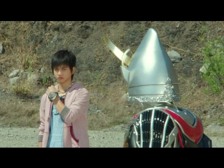 [team wolf] kamen rider gaim movie - great soccer battle! golden fruits cup