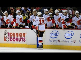 Hudler sets up Bouma's GWG with no-look dish