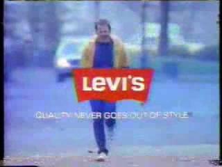 Bruce Willis 1984 Levis 501 Blues Commercial