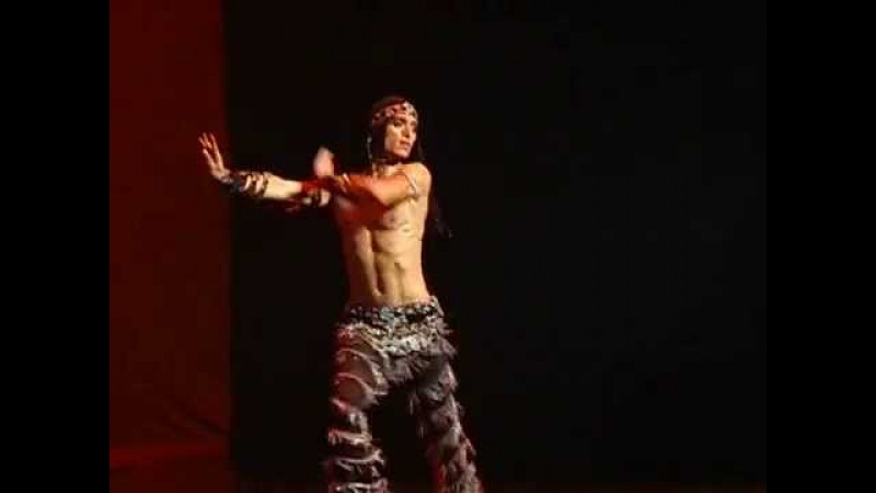 Ilhan Karabacak Dancing with a Male Belly Dancer