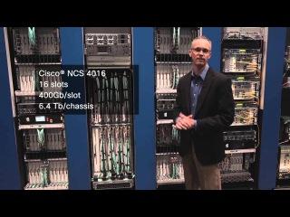 # OFC2015 - NCS 4000 Converged Multi-шасси DWDM, OTN и P-OTS транспортная система