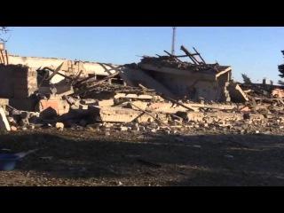 Как выглядят склады боеприпасов после пожара в Сватово