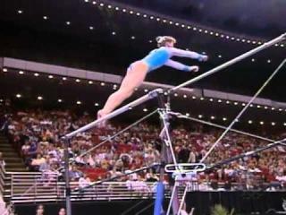Elena Zamolodchikova - Uneven Bars - 2001 Visa American Cup