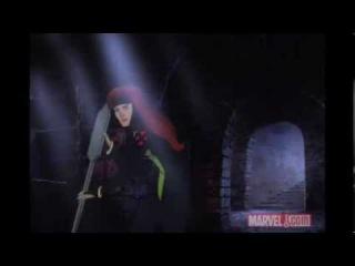 Cyclops and Jean Grey vs.  Mystique