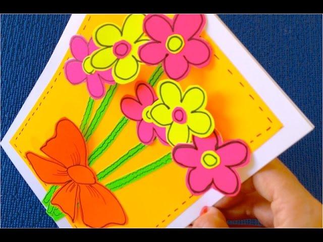 ♡ Как сделать Открытку своими руками♡ открытка на День рождения♡