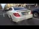 Mercedes C63 AMG - 4.0L V8 vs 6.2L V8 Engine SOUNDS!