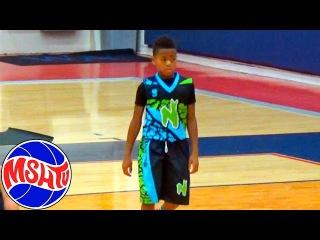 1st Grader Payton Jones has CRAZY HANDLES - Nightrydas Elite Class of 2027 Basketball